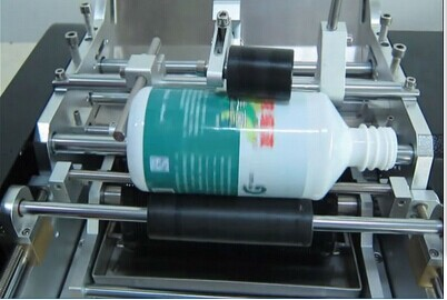 Manual cold glue label machine