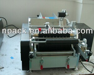 Manual glue  labeing machine