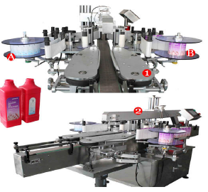 automatic-Double-sides-square-bottle-labeling-machine-For-sale