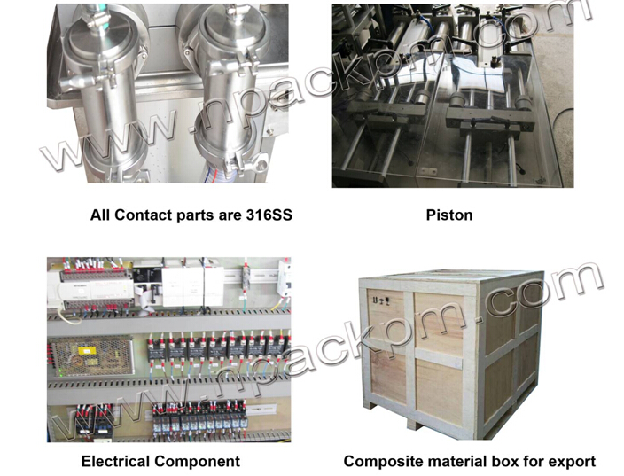 details of economy automatic liquid filling machine